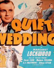 Poster for Quiet Wedding (1941) (4)