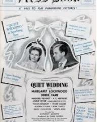 Pressbook for Quiet Wedding (1941) (1)