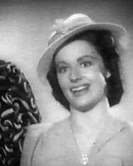 Margaret Lockwood (as Janet Royd) in a screenshot from Quiet Wedding (1941) (3)