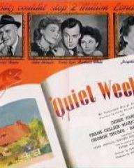 Pressbook for Quiet Weekend (1946) (1)