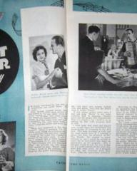 Radio and Television Mirror magazine featuring The Street Singer.  April, 1948, volume 29, issue number 5.