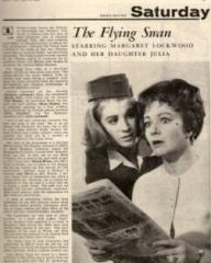 Radio Times magazine with Julia Lockwood and  Margaret Lockwood in The Flying Swan.  27th March, 1965.