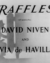 Main title from Raffles (1939) (3)  Starring David Niven and Olivia de Havilland