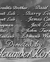 Main title from Rembrandt (1936) (14).  Directed by Alexander Korda