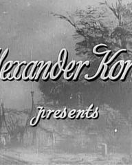 Main title from Rembrandt (1936) (2).  Alexander Korda presents