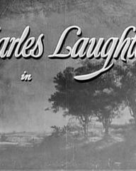 Main title from Rembrandt (1936) (3).  Charles Laughton in