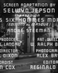 Main title from The Riverside Murder (1935) (2)