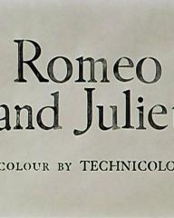 Main title from Romeo and Juliet (1954) (2).  Colour by Technicolor