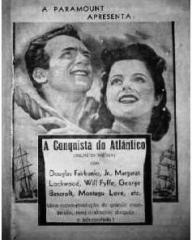 Brazilian poster for Rulers of the Sea (1939) (1)