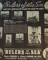 Lobby card from Rulers of the Sea (1939) (2)