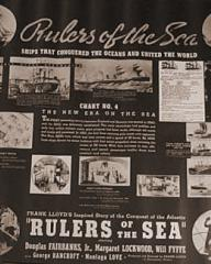 Lobby card from Rulers of the Sea (1939) (5)