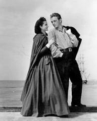 Margaret Lockwood (as Mary Shaw) and Douglas Fairbanks Jr (as David 'Davie' Gillespie) in a photograph from Rulers of the Sea (1939) (11)