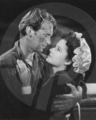 Douglas Fairbanks Jr (as David 'Davie' Gillespie) and Margaret Lockwood (as Mary Shaw) in a photograph from Rulers of the Sea (1939) (21)