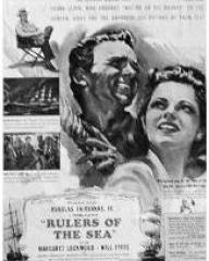 Poster for Rulers of the Sea (1939) (3)