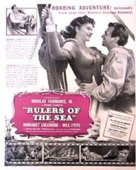 Poster for Rulers of the Sea (1939) (4)