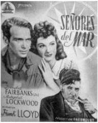 Spanish poster for Rulers of the Sea (1939) (1)