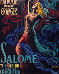 Italian poster for Salome (1953) (1)