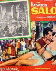 Mexican lobby card from Salome (1953) (1)