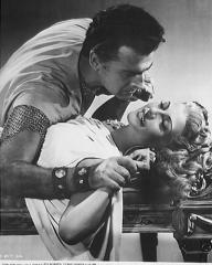 Stewart Granger (as Commander Claudius) and Rita Hayworth (as Princess Salome) in a photograph from Salome (1953) (8)