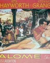 Poster for Salome (1953) (3)