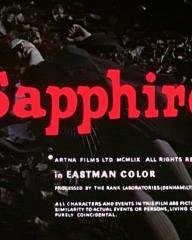 Main title from Sapphire (1959) (4)