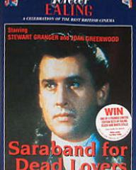 Stewart Granger (as Count Philip Konigsmark) in an Australian video cover from Saraband for Dead Lovers (1948) (2)
