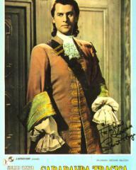 Stewart Granger (as Count Philip Konigsmark) in an Italian poster for Saraband for Dead Lovers (1948) (1)