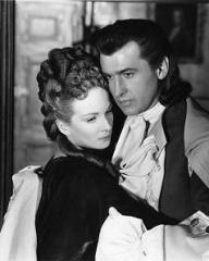 Joan Greenwood (as Sophie Dorothea) and Stewart Granger (as Count Philip Konigsmark) in a photograph from Saraband for Dead Lovers (1948) (18)