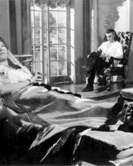 Flora Robson (as Countess Platen) and Stewart Granger (as Count Philip Konigsmark) in a photograph from Saraband for Dead Lovers (1948) (2)