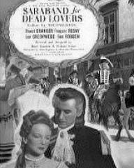 Poster for Saraband for Dead Lovers (1948) (3)