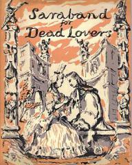 Joan Greenwood (as Sophie Dorothea) and Stewart Granger (as Count Philip Konigsmark) in a poster for Saraband for Dead Lovers (1948) (6)