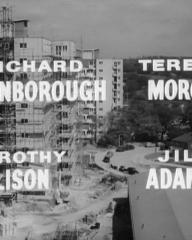 Main title from The Scamp (1957) (3). Richard Attenborough, Terence Morgan, Dorothy Alison, Jill Adams