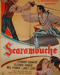 Poster for Scaramouche (1952) (1)