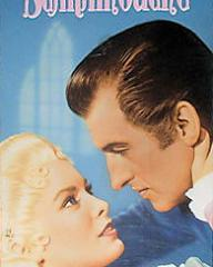 Janet Leigh (as Aline de Gavrillac de Bourbon) and Stewart Granger (as Andre Moreau) in a video cover from Scaramouche (1952) (1)