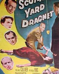 American poster for Scotland Yard Dragnet [The Hypnotist] (1957) (1)