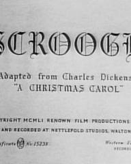 Main title from Scrooge (1951)