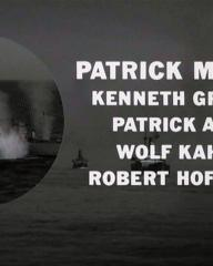 Main title from The Sea Wolves (1980) (12).  Patrick MacNee Kenneth Griffith, Patrick Allen, Wolf Kahler, Robert Hoffman