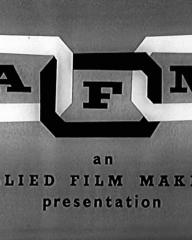 Main title from Seance on a Wet Afternoon (1964) (1).  AFM an Allied Film Makers presentation