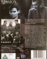 DVD cover of Secret Mission (1942) from Simply Media [2010] (2)