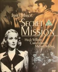 Secret Mission DVD with Carla Lehmann and James Mason