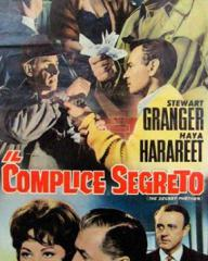 Italian poster for The Secret Partner (1961) (1)