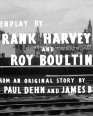Main title from Seven Days to Noon (1950) (2).  Screenplay by Frank Harvey and Roy Boulting from an original story by Paul Dehn and James Bernard