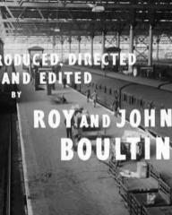 Main title from Seven Days to Noon (1950) (9).  Produced directed and edited by Roy and John Boulting