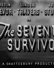 Main title from The Seventh Survivor (1942) (3)