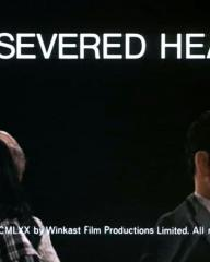 Main title from A Severed Head (1971) (8).  Copyright MCMLXX by Winkast Film Productions Limited.  All rights reserved