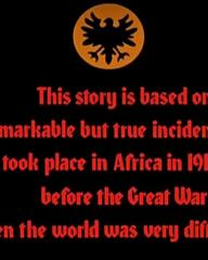 Main title from Shout at the Devil (1976) (1). This story is based on a remarkable but true incident that took place in Africa in 1913, before the Great War when the world was very different