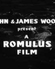 Main title from The Silent Enemy (1958) (2). John & James Woolf present a Romulus film