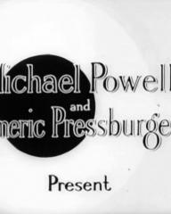 Main title from The Silver Fleet (1943) (2).  Michael Powell and Emric Pressburger present