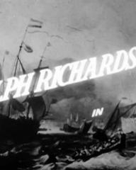 Main title from The Silver Fleet (1943) (3).  Ralph Richardson in…