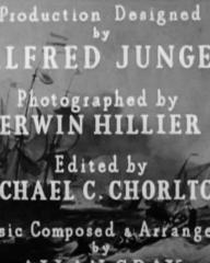 Main title from The Silver Fleet (1943) (6)